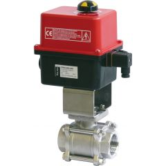 Two Way Steel Ball Valve with Valpes Actuator - Zoedale Ltd - Supplier of Valves, Actuators and Flow Control Equipment
