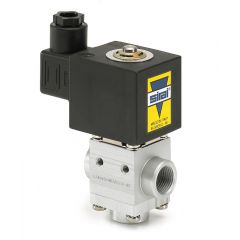 Sirai L340 Solenoid Valve - 3 way universal - aluminium - Zoedale Ltd - Supplier of Valves, Actuators and Flow Control Equipment