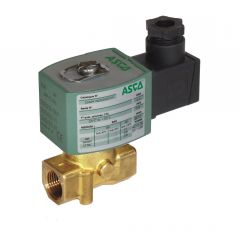ASCO Solenoid Valve 263 - 2 Way - Normally Closed - Direct Operated - brass - zoedale ltd