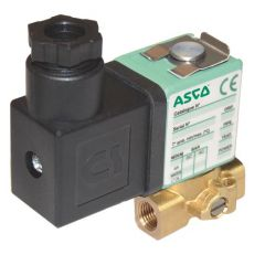 ASCO Solenoid Valve 256 - 2 Way - Normally Closed - Direct Operated - Brass - Zoedale Ltd
