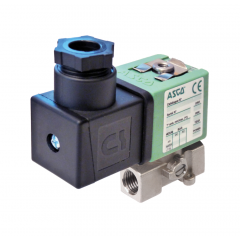 ASCO Solenoid Valve 356 - 3 Way - Direct Operated - zoedale