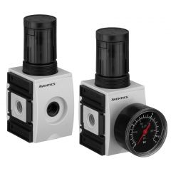 "Aventics Relieving Pressure Regulator - Series AS2-RGS - 1/4"" - 2200 L/Min - Max 16 Bar - Zoedale Ltd"