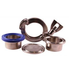 Clamp Fittings - Zoedale Ltd - Supplier of Valves, Actuators and Flow Control Equipment