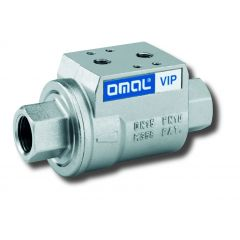 Double Acting Coaxial Valve from Omal - Zoedale Ltd - Supplier of Valves, Actuators and Flow Control Equipment