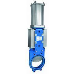 ORBINOX EB Bi-Directional Pneumatic Knife Gate Valve Zoedale Ltd - Supplier of Valves, Actuators and Flow Control Equipment