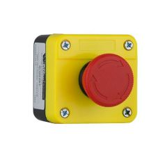 flamefast remote emergency stop button twist release - zoedale ltd suppliers of valves actuators and flow control equipment