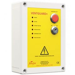 Flamefast VentGuard Plus Panel - Integral Fan Current Monitor - Zoedale Ltd Suppliers of Valves Actuators and Flow Control Equipment