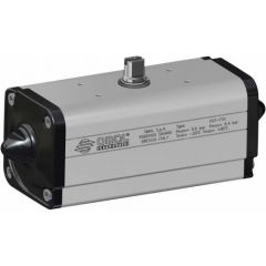 NEW Omal Standard Double Acting Actuator -NAMUR - Zoedale Ltd - Supplier of Valves, Actuators and Flow Control Equipment