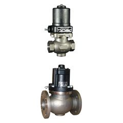 Magnatrol Type K Normally Closed Stainless Steel Solenoid Valve