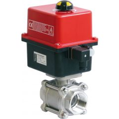 Valpes 2 way 3 piece actuated package - Zoedale Ltd - Supplier of Valves, Actuators and Flow Control Equipment
