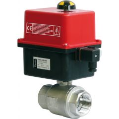 Valpes Low Voltage Brass Ball Valve Package - Zoedale Ltd - Supplier of Valves, Actuators and Flow Control Equipment