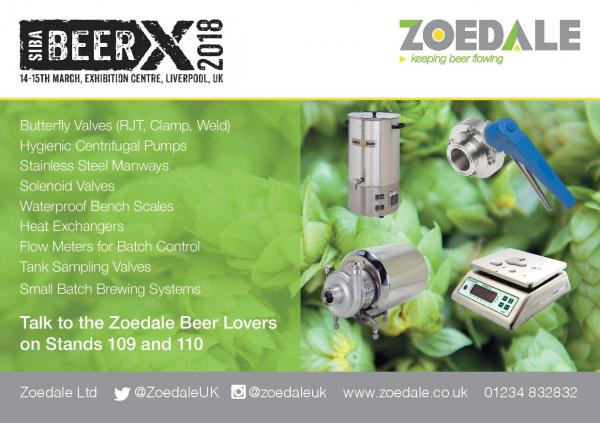 SIBA BeerX 2018 – See you there
