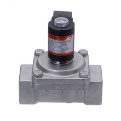 Assisted Lift Stainless Steel Solenoid Valve - Normally Closed  - Zoedale Ltd - Supplier of Valves, Actuators and Flow Control Equipment