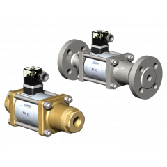 Co-ax Valves MK / FK Series 2/2 Way Direct Actuated Coaxial Valve - Zoedale Ltd