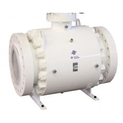 Trunnion Mounted Ball Valve - Coated Steel - Zoedale Ltd - Supplier of Valves, Actuators and Flow Control Equipment